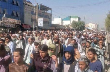 الآلاف يتظاهرون ضد طالبان في قندهار